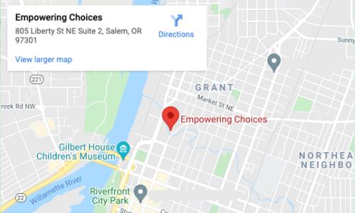 Empowering Choices - Google Maps - 805 Liberty St NE Suite 2 - Salem OR 97301
